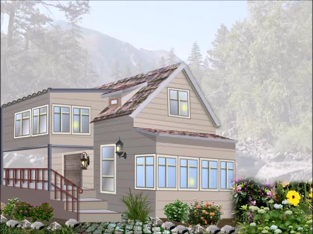 "Illustration Using PowerPoint | ""The Pledge House"" 