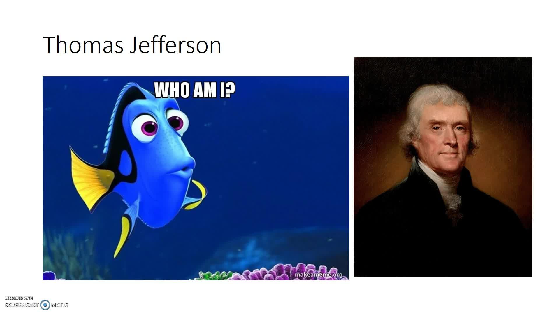 Jefferson to Monroe