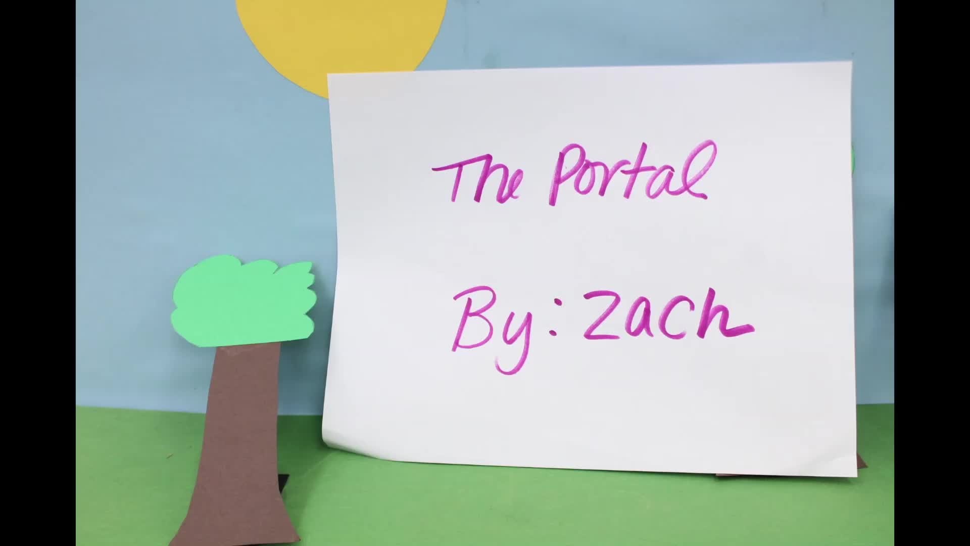 Zach H's Claymation from GVHS Animation Camp 2019