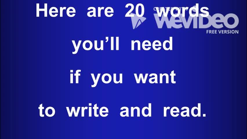 20 Words You'll Need