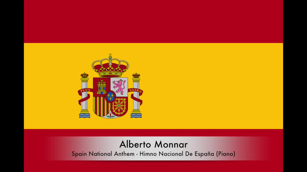 Alberto Monnar - Spain National Anthem / Himno Nacional De España