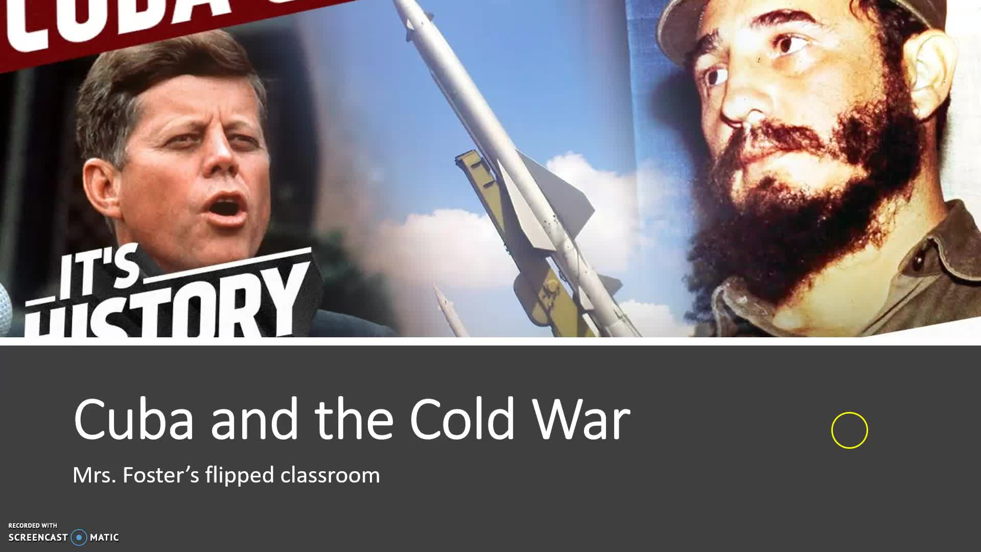 Cuba and the Cold War 2019