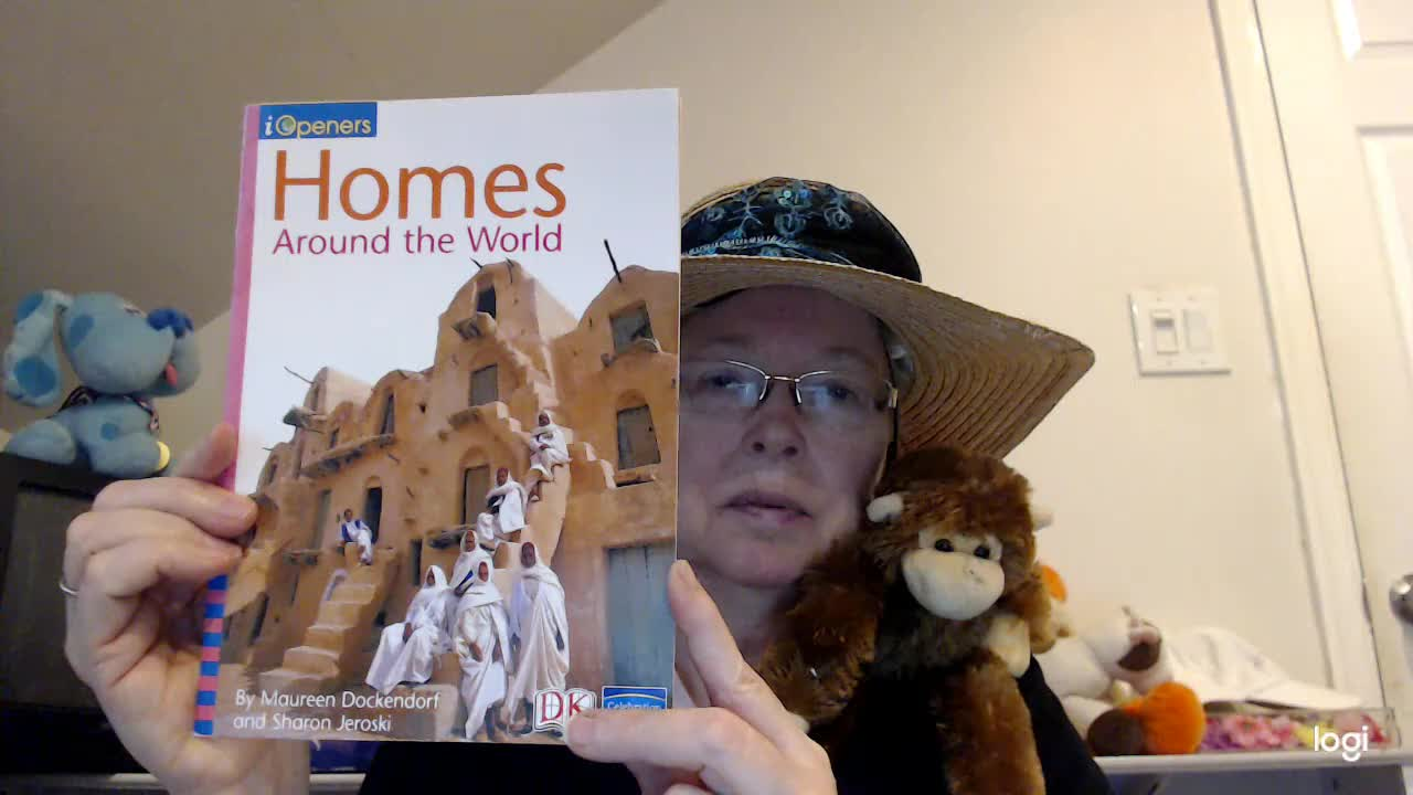 (read aloud) Homes Around the World DRA 3
