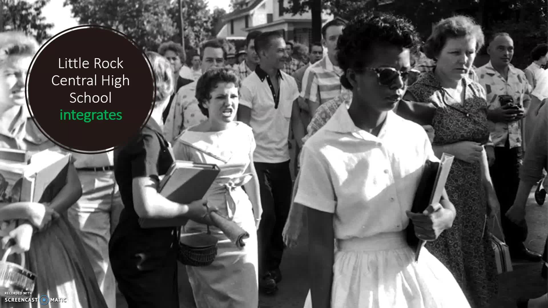 Civil Rights Movement flipped classroom