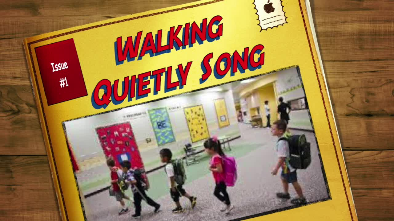 Walking Quietly Song