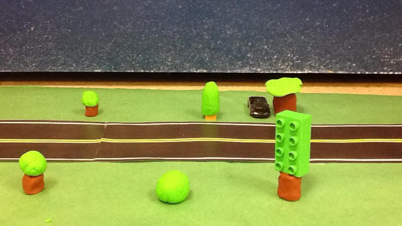 Stop Motion Car Chase by Mikey and Brandon