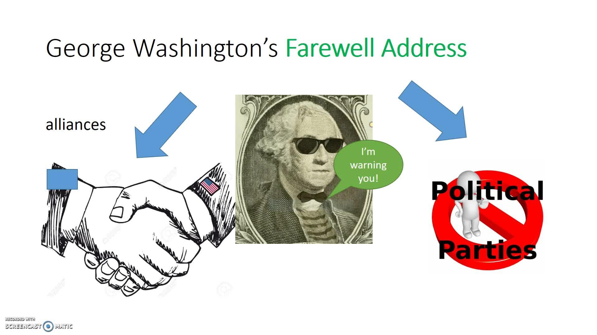 George Washington flipped classroom