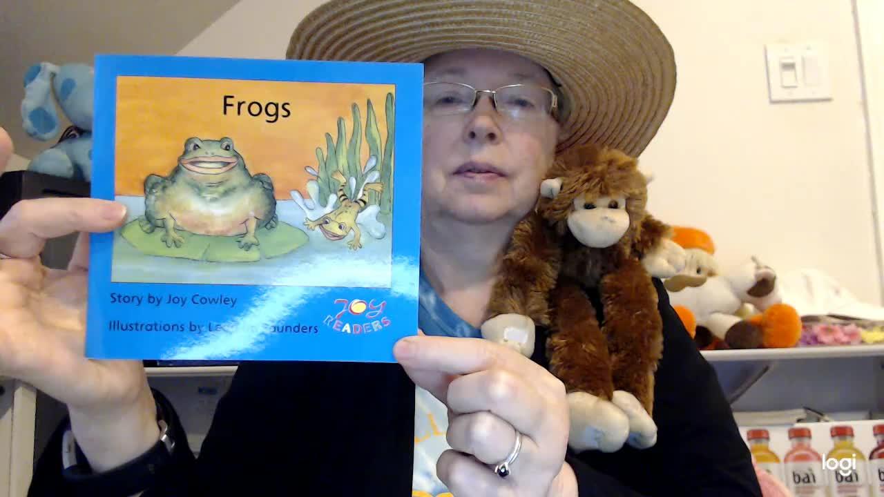 (read aloud) Frogs DRA 4