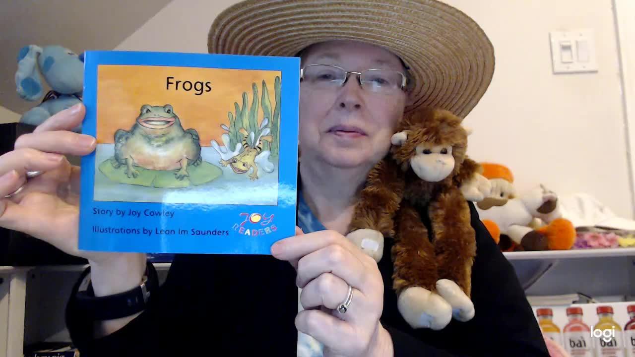 (student practice) Frogs DRA 4
