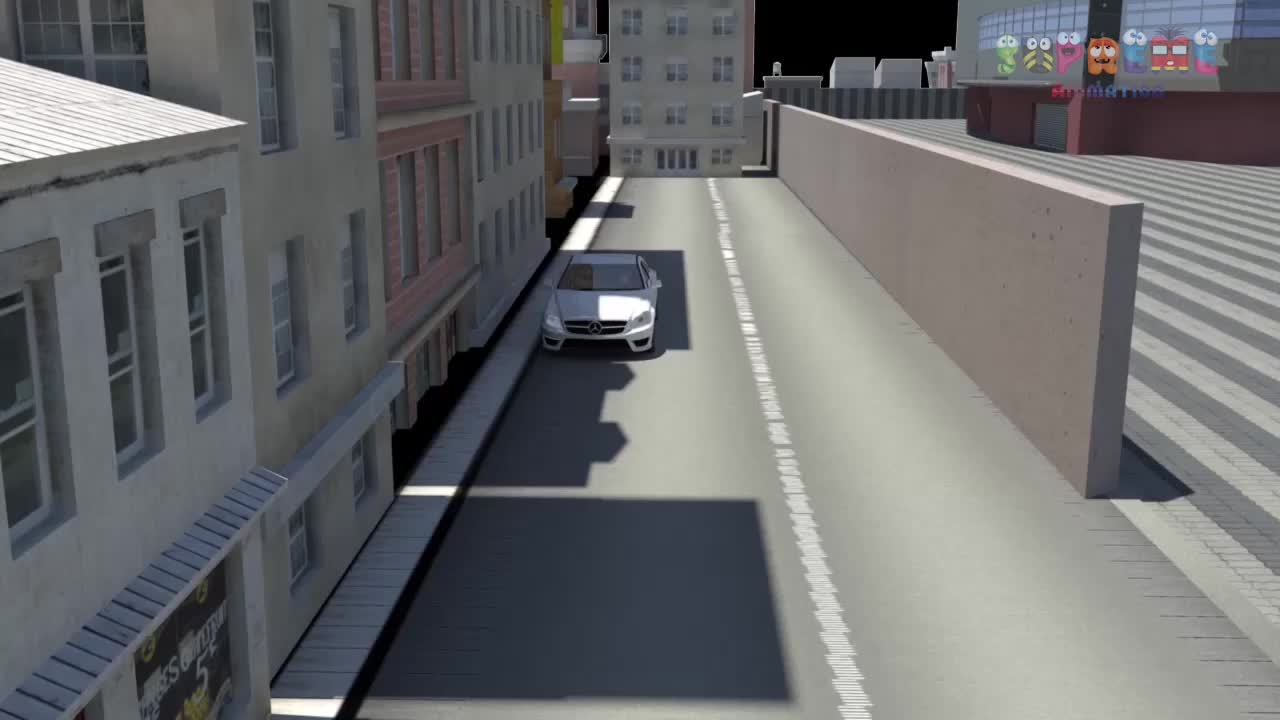 Car Parking Animation