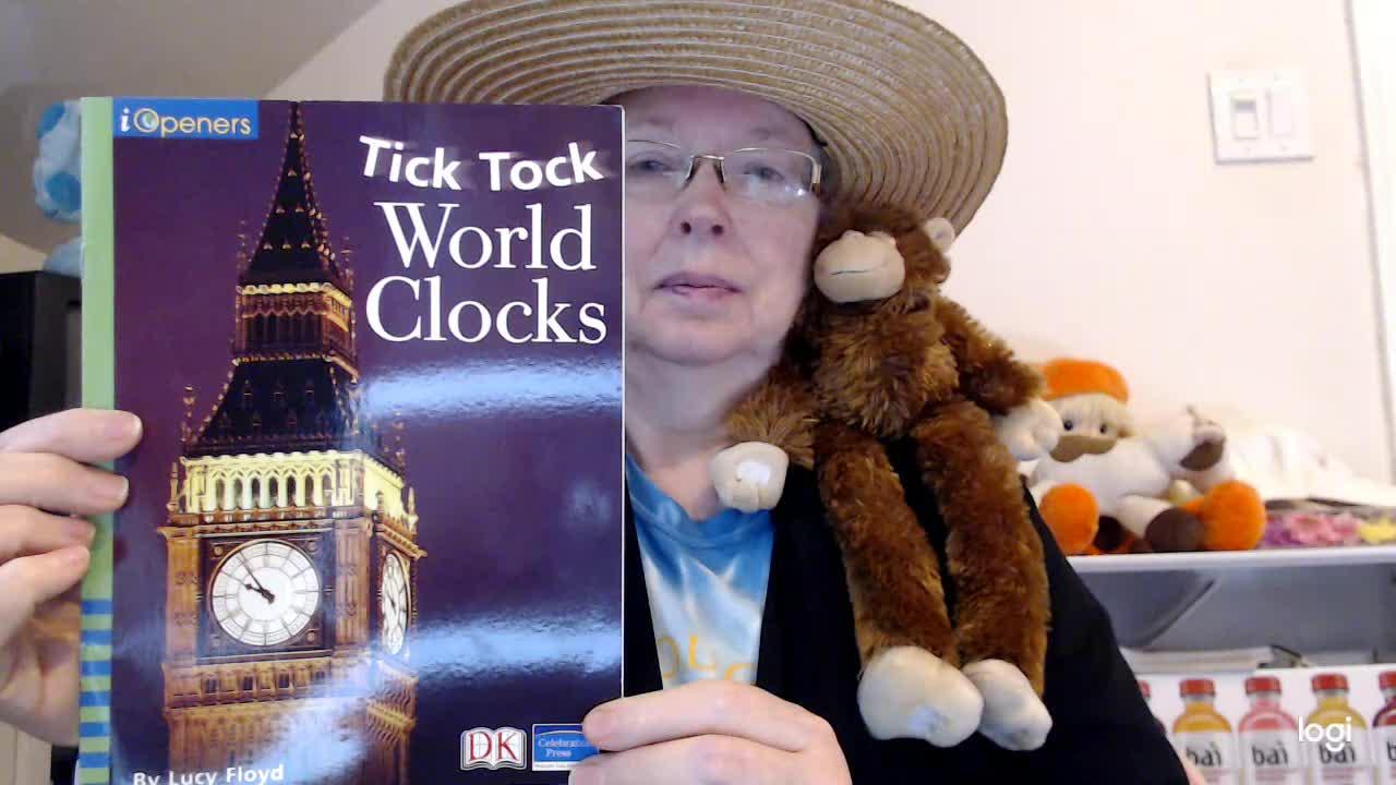 (read aloud) Tick Tock World Clocks DRA 4