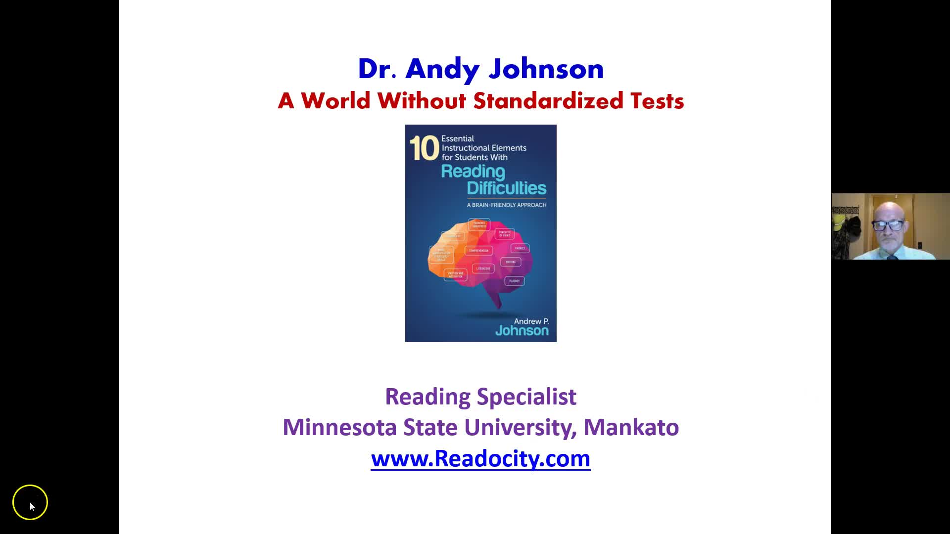LIFE WITHOUT STANDARDIZED TESTS