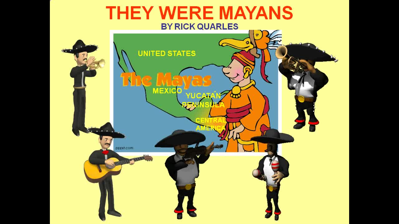 They Were Mayans Music Video