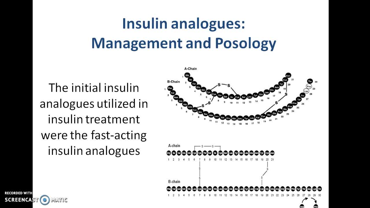 Insulin analogues: Management and Posology | Online Course | Udemy