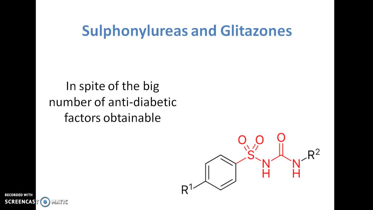 Sulphonylureas and glitazones | Online Course | Udemy