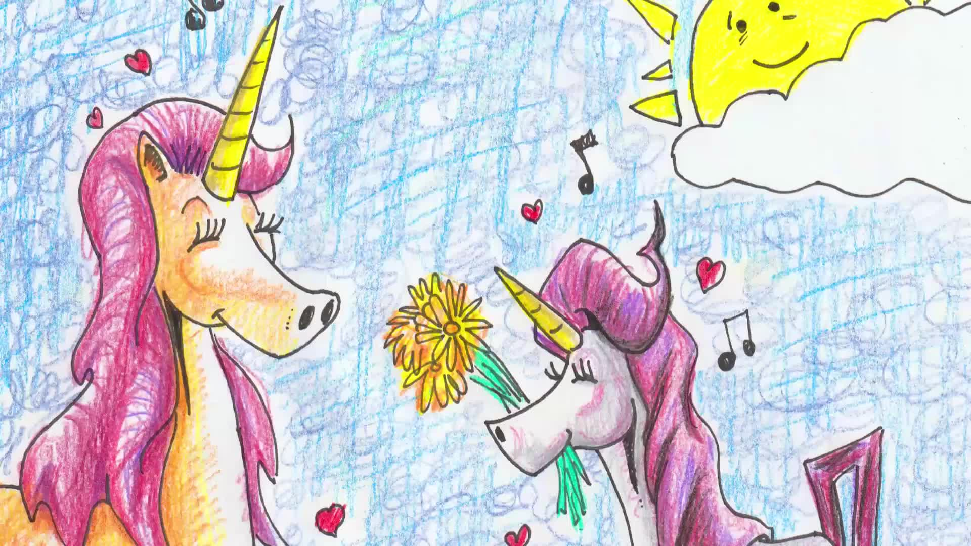 Unicorn Jazz Official Sing-a-long Lyrics for Unicorn Children's Book Series