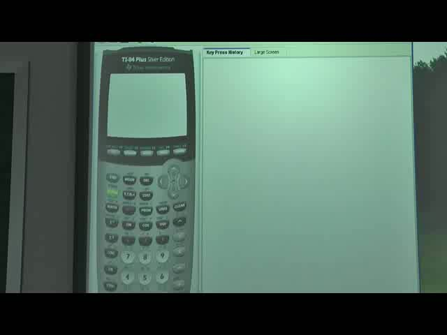 Graphing Calculator Lesson