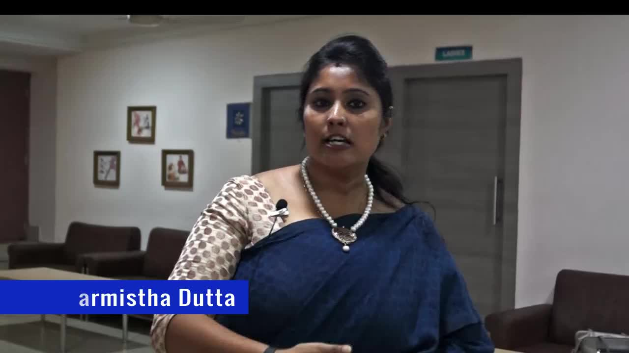 "Ms. Sharmistha Dutta speaks on ""Teachers' Burnout"""