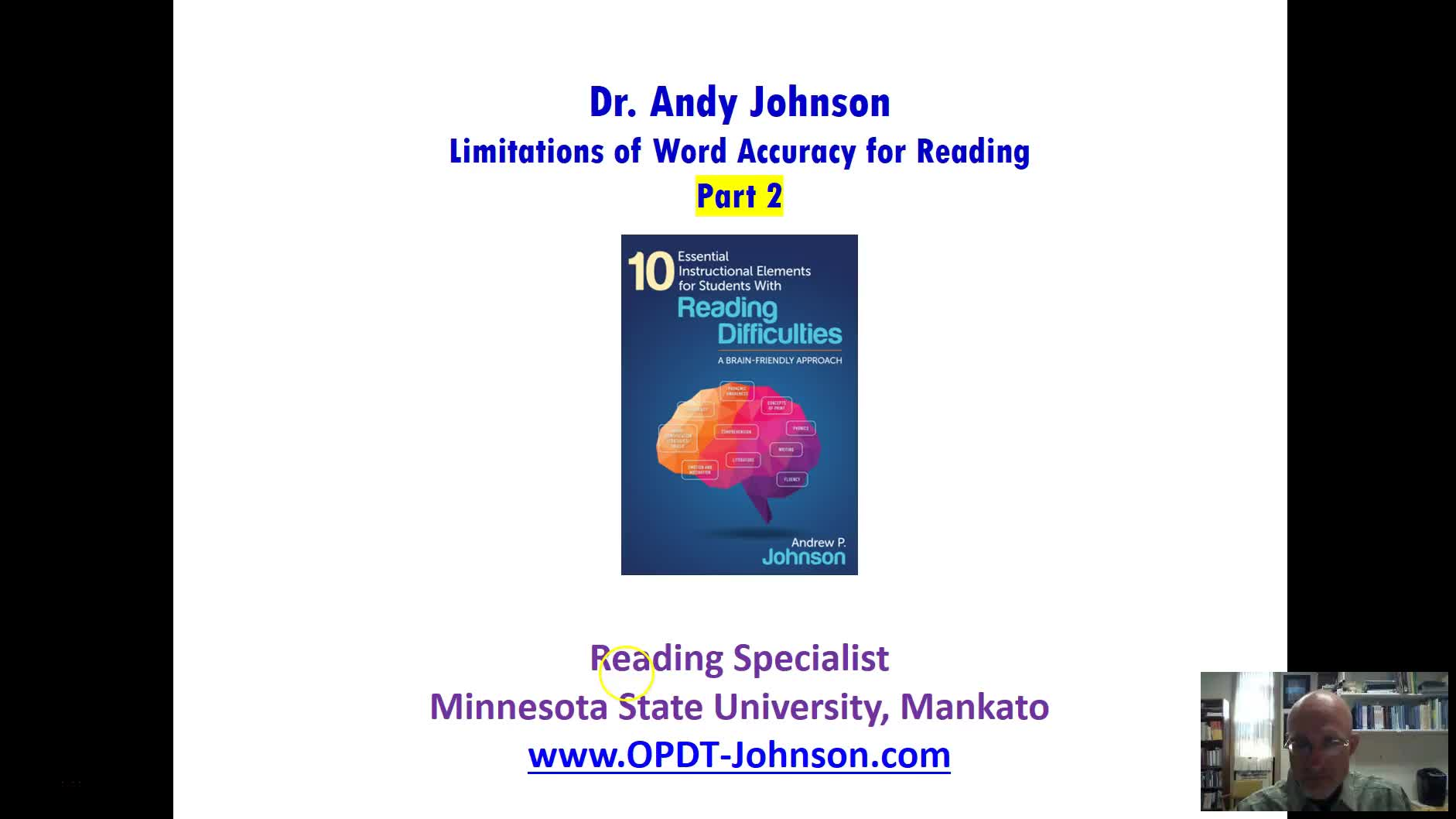 RESEARCH: LIMITATIONS OF WORD ACCURACY FOR READING