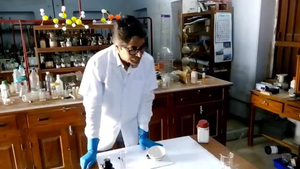 Few Eye-catching Chemical Reactions