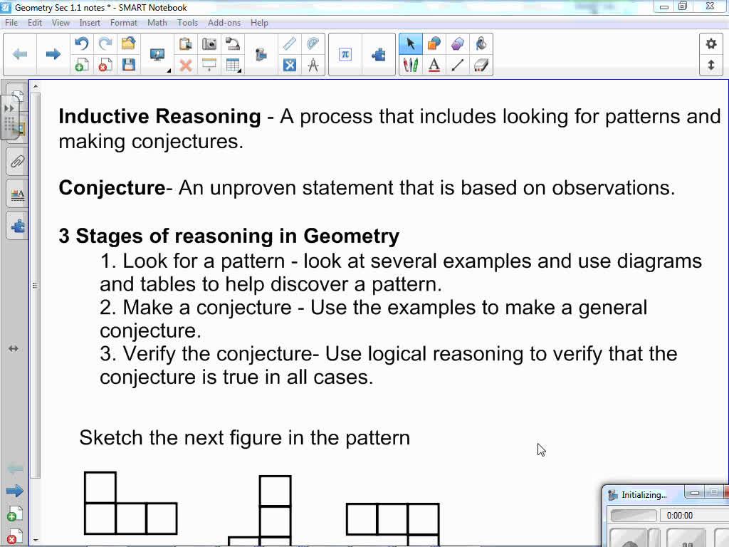 McDougall Littell Geometry Sec 1.1 Notes