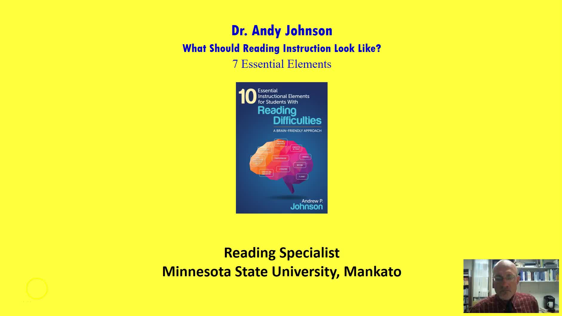 WHAT SHOULD READING INSTRUCTION LOOK LIKE?