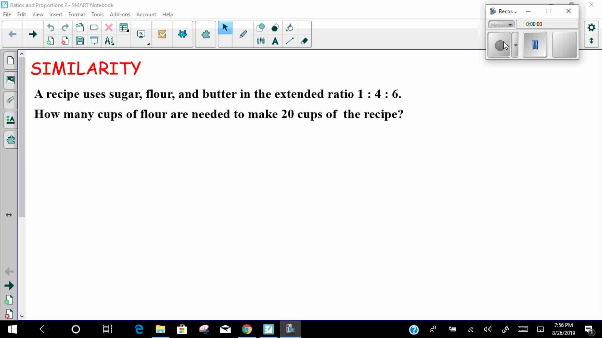 Mays Math Ratio and Proportions 2