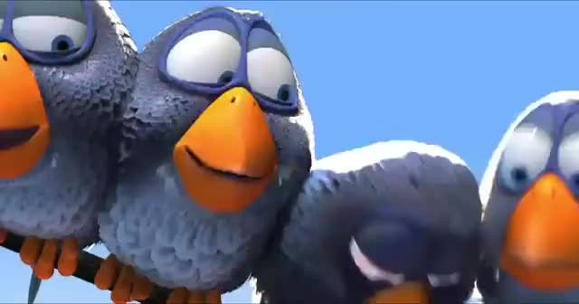 For the Birds Pixar Short Film