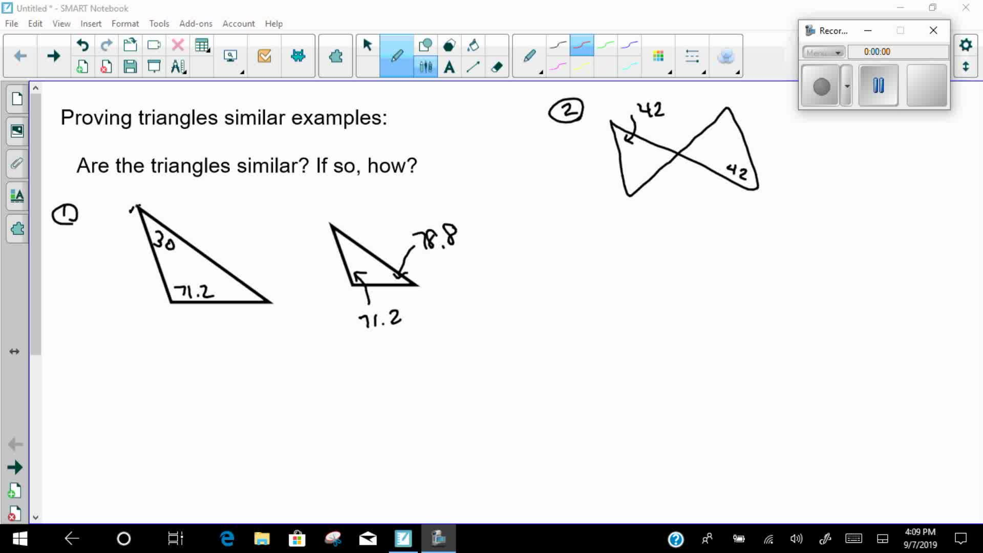 Mays Math Proving Triangles Congruent