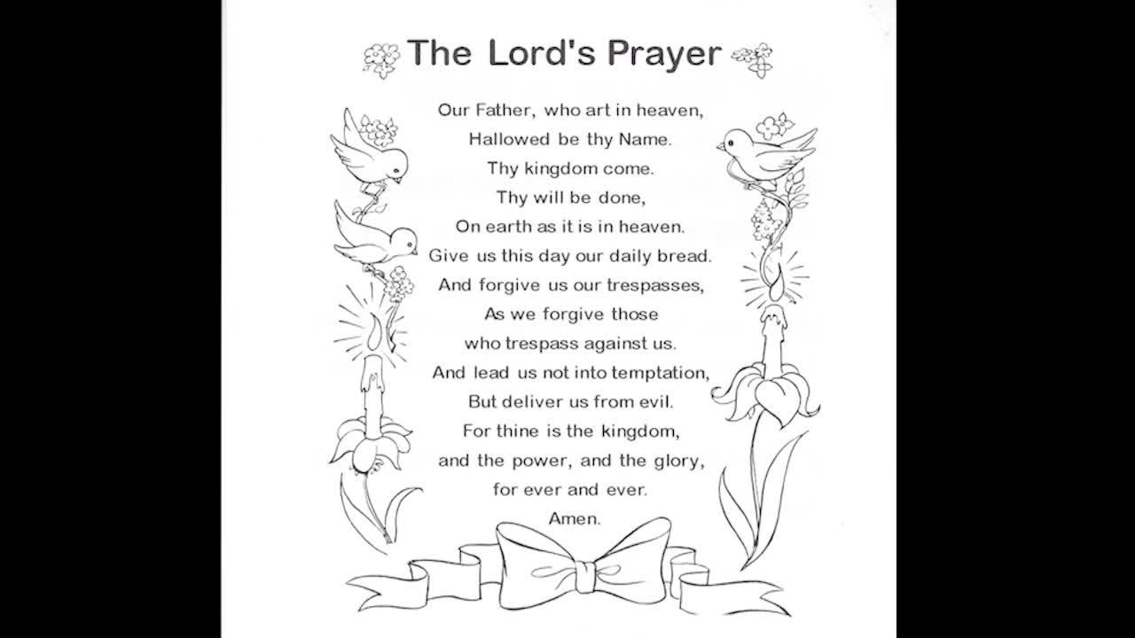 Prayer - The Lord's Prayer