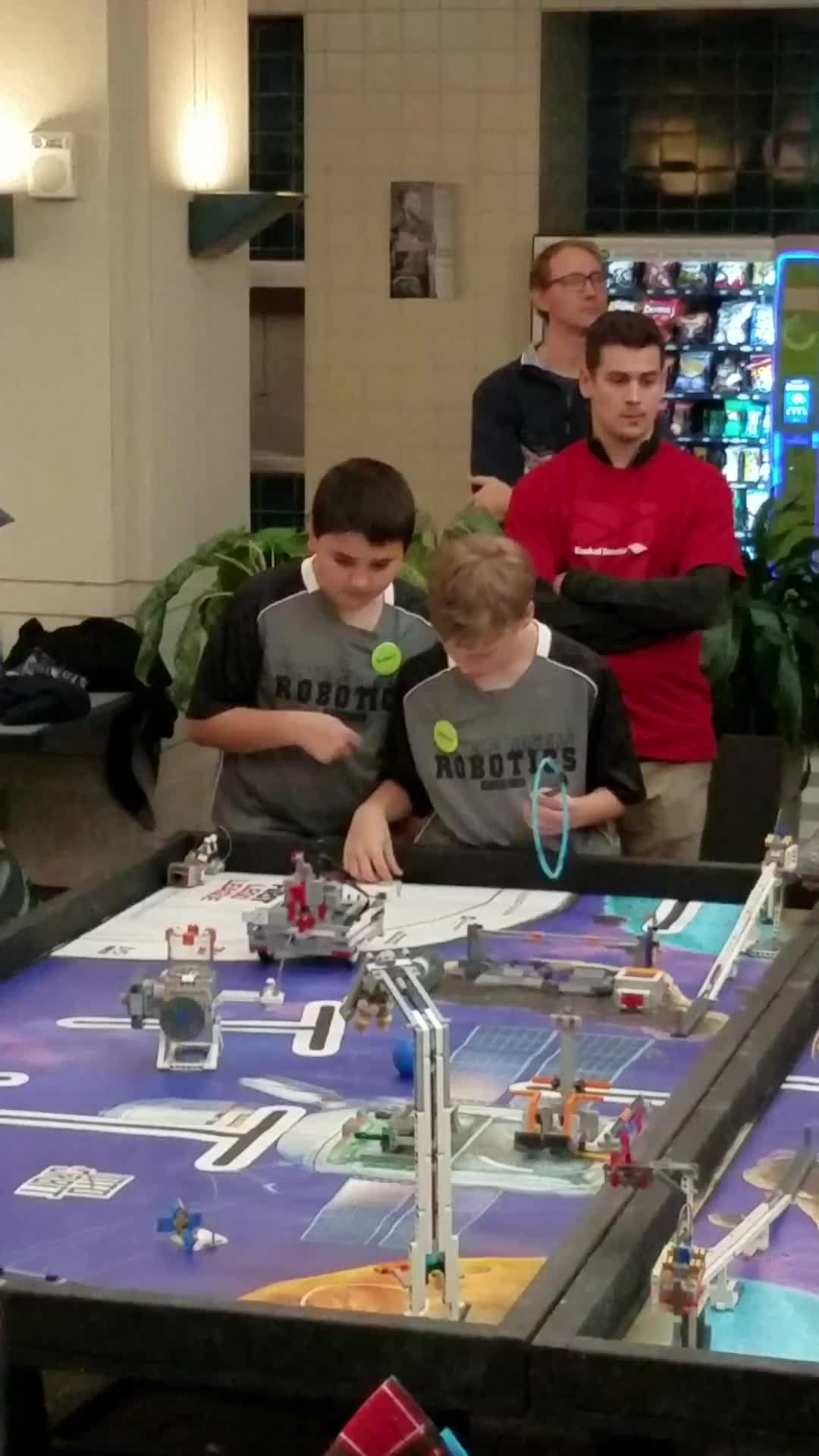 GRMS Robotics Funderdome - Run 1