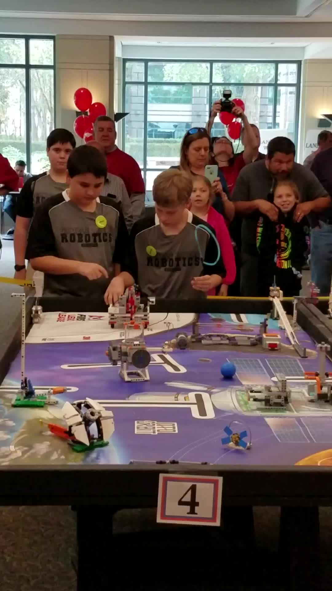 GRMS Robotics Funderdome - Run 2