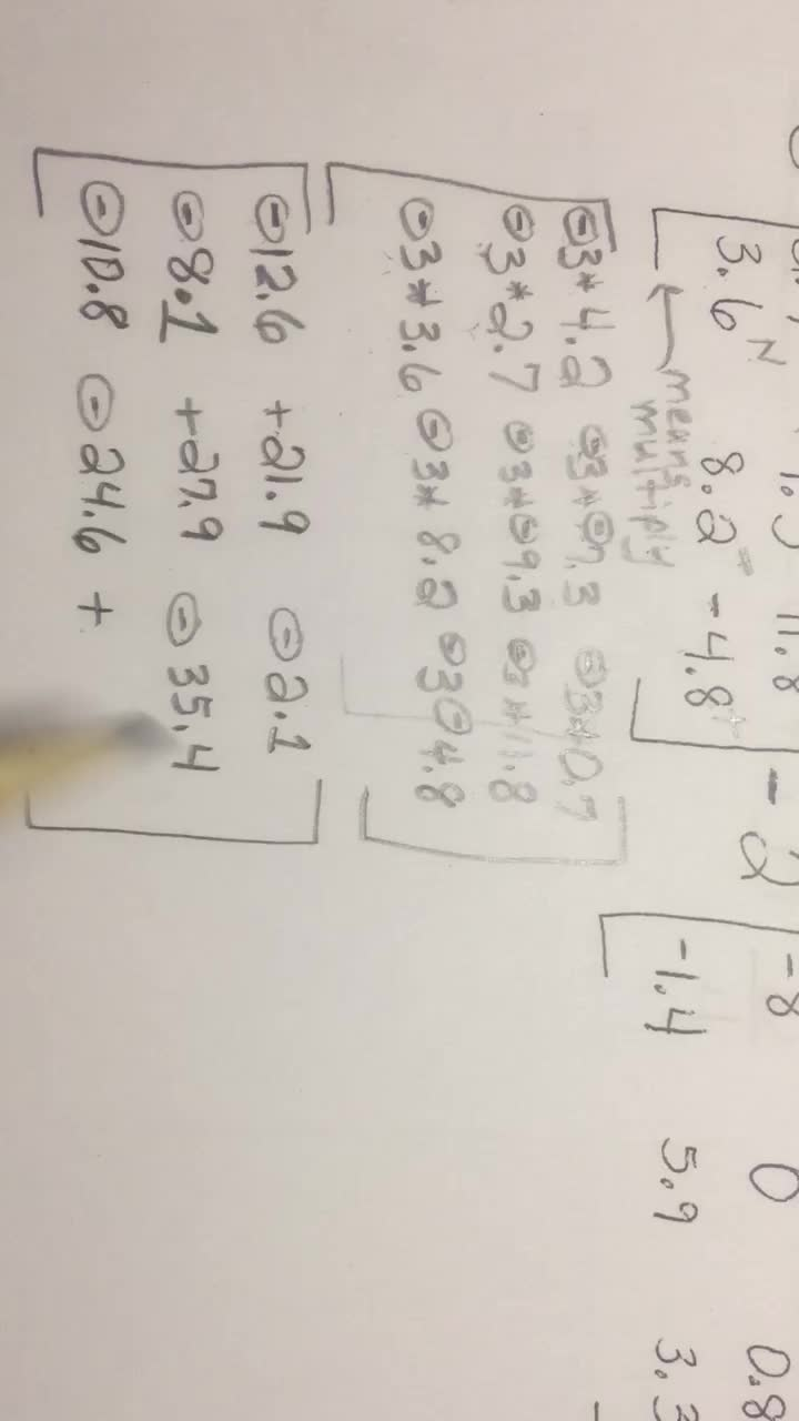 Matrices - Video 3 of 6 - Multiply, Add, Subtract