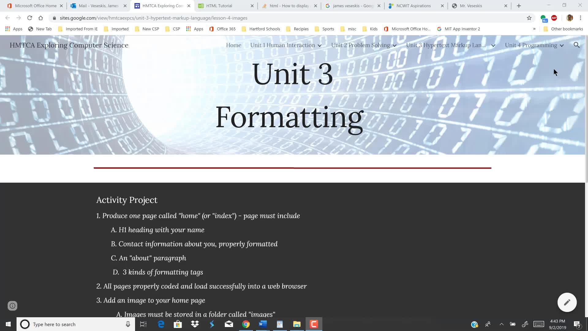 HMTCA HTML Images