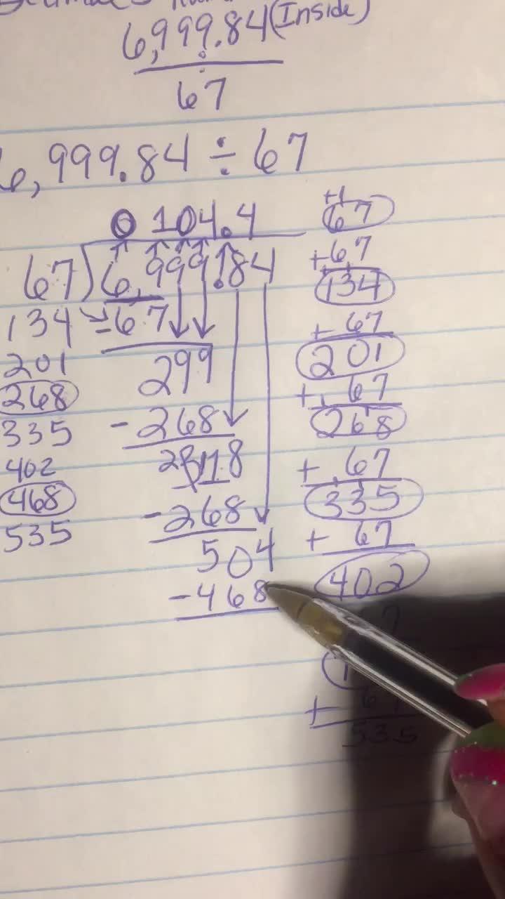 Divide Decimals-Video5of5